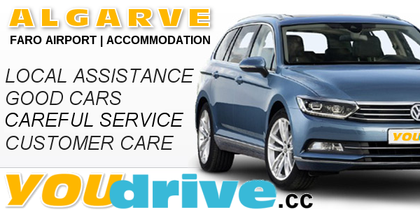 Algarve car hire at Salgados Autohuur deliver to faro airport or accommodation | Algarve car hire deliver all locations in algarve