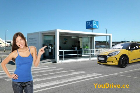 car hire faro airport delivery carpark4 algarve portugal